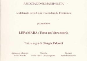Lepamara : tutta un'altra storia – Brochure informativa