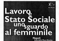 Lavoro e Stato Sociale: uno sguardo al femminile