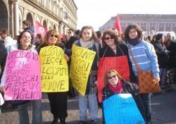 "Manifestazione ""194 parole per la libertà"""