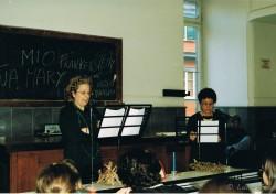8 marzo 1999. Rappresentazione teatrale presso Facoltà di Lettere Università Federico II