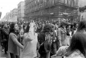 Manifestazione studentesca 8 marzo