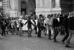 Manifestazione studentesca 8 marzo 1977