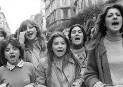 Manifestazione studentesca 8 marzo 1979