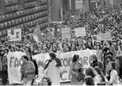 Manifestazione studentesca 8 marzo 1978
