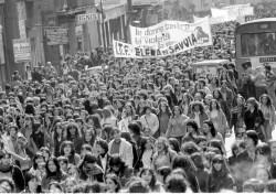 Manifestazione 8 marzo 1979
