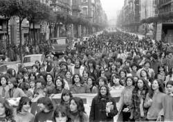 Manifestazione 8 marzo 1981