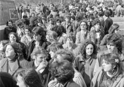 Manifestazione 8 marzo 1984