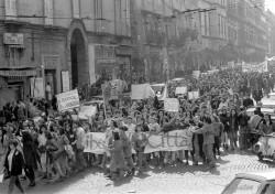 Manifestazione 8 marzo 1989