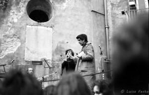 Manifestazione 8 marzo 1977