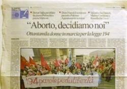 """""""Aborto, decidiamo noi"""""""