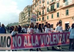 """Manifestazione """"Diciamo no alla violenza contro le donne"""""""