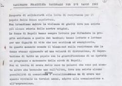 Manifesto femminista nazionale per l'8 maggio 1981