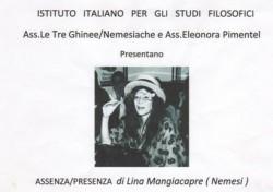 Assenza/presenza di Lina Mangiacapre (Nemesi)
